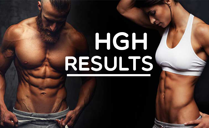 HGH Results Before And After | Timeline & Pictures